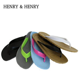 HENRY&HENRY【ヘンリー&ヘンリー】 ビーチサンダル フリッパー イタリア製 全10色 男女兼用 ヘンリーヘンリー サンダル