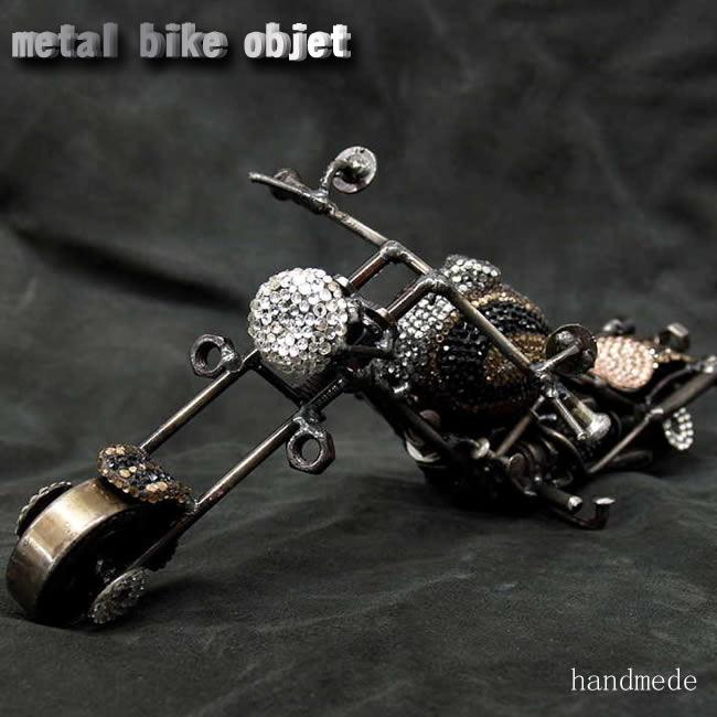 デコメタルバイクオブジェmbk-03