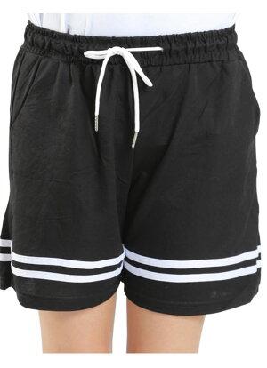 送料無料ショートパンツレディースライン入りジャージスポーツダンス衣装チームユニフォームヨガジムスポーツ運動ランニングトレーニング部活動きやすいap-6244335