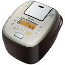 【納期約2週間】Panasonic パナソニック SR-PA107-T 可変圧力IHジャー炊飯器(5.5合炊き) ブラウン SRPA107