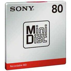 【納期約7〜10日】MDW80T-W SONY ソニー オーディオ用MD ミニディスク MDW80TW