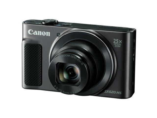 【納期約1〜2週間】【お一人様1台限り】PowerShot SX620 HS(BK) 【送料無料】[CANON キヤノン] コンパクトデジタルカメラ PowerShotSX620HSBK ブラック