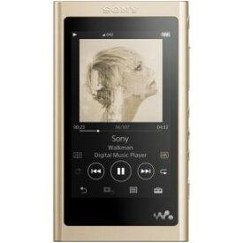 【納期約3週間】SONY ソニー NW-A55NM ウォークマン A50シリーズ 16GB ペールゴールド NWA55NM