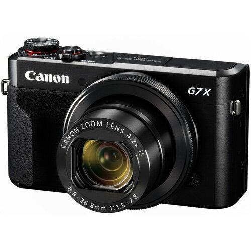◆【在庫あり翌営業日発送OK A-8】【お一人様1台限り】【送料無料】[CANON キヤノン] デジタルカメラ PowerShot パワーショット G7 X Mark II PSG7XMK2