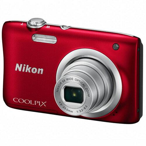【納期約1ヶ月以上】【お一人様1台限り】A100RD 【送料無料】Nikon ニコン デジタルカメラ 「COOLPIX(クールピクス)」 A100 レッド