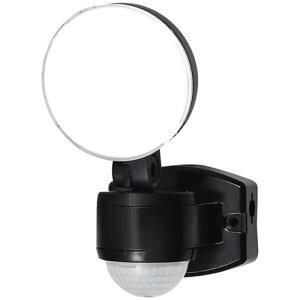 【納期約1〜2週間】ELPA ESL-SS411AC 屋外用LEDセンサーライト AC電源 1灯 白色/コンセント式 ESLSS411AC