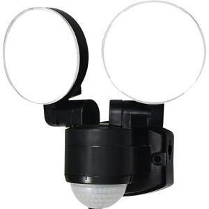 エルパ LEDセンサーライト コンセント式 2灯 ESL-SS412AC