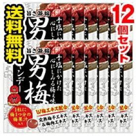 ■12個セット・送料無料■ノーベル 男梅キャンデー(80g)(foo-00145-4902124681430-12)