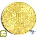 オーストリア ウィーン金貨 1/4オンス 1/4oz コイン 純金 (99.99%) K24 24金 7.7g 中古美品