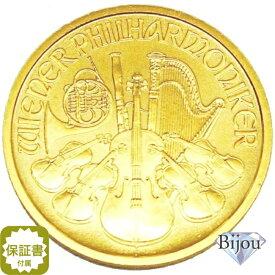 【エントリーでポイント最大44倍】オーストリア ウィーン金貨 1/2オンス 1/2oz コイン 純金 (999.9%) K24 24金 15.5g 中古美品