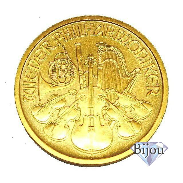 オーストリア ウィーン金貨 1オンス(田中貴金属 純正袋入り)未使用品 24K 24金 純金 送料無料