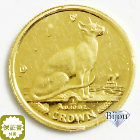 K24 マン島 キャット金貨 コイン1/10oz 3.11g 1992年 招き猫 純金