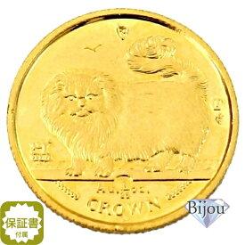 K24 マン島 キャット金貨 コイン 1/25oz 1.24g 1997年 招き猫 純金