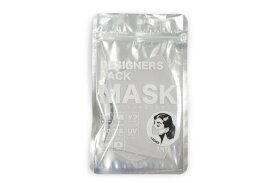 ANYe デザイナーズパック マスク シルバー エニーマスク レディース 洗えるマスク 布マスク 抗菌 日本製 冷感 防臭 高密度 仕事用 学校用 50回洗える 肌に優しいマスク