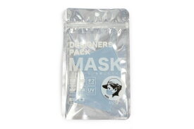 ANYe デザイナーズパックマスク キッズ ブルー エニーマスク 洗えるマスク 布マスク 子供用 抗菌 日本製 冷感 防臭 高密度 キッズサイズ 学校用 50回洗える 国産 肌に優しいマスク