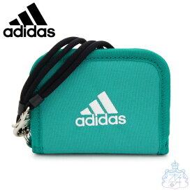 アディダス ネス ラウンド折り財布 グリーン 財布 二つ折り財布 男の子 女の子 スポーツブランド メンズ レディース ブランド adidas 57852