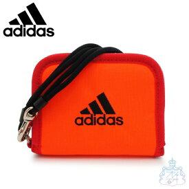 アディダス ネス ラウンド折り財布 レッド 財布 二つ折り財布 男の子 女の子 スポーツブランド メンズ レディース ブランド adidas 57852