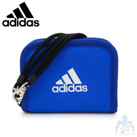 アディダス ネス ラウンド折り財布 ブルー 財布 二つ折り財布 男の子 女の子 スポーツブランド メンズ レディース ブランド adidas 57852