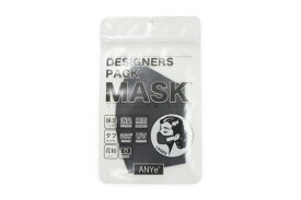 ANYe デザイナーズパック マスク 保湿 ネイビー エニーマスク レディース 洗えるマスク 布マスク 抗菌 高密度 日本製 消臭 肌に優しいマスク 仕事用 学校用 UVカット 50回洗える マスク荒れ予防