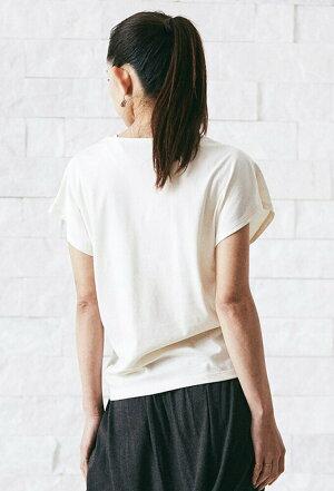 [tejas]サーントワTee【F】(女性用半袖Tシャツ)★【メ便送料無料】SANTVAT18SSヨガウェアヨガウエアレディースコットンフレンチスリーブプリントトップステジャス《TL81110》|80418|「NG」:
