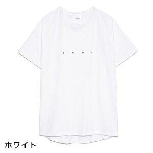 エミヨガウェアemmiロゴTシャツ20SSヨガトップス接触冷感ゆったり半袖吸水速乾軽量UVカット体型カバー女性用14WCT201201「YC」【送料無料メ】_L《00228》