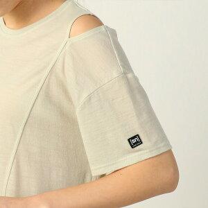 スーパーナチュラルヨガウェアSNWヨガスラッシュショルダールーズTシャツ日本正規品WYogaSlashShoulderLooseTee19FWトップスオフショルダーゆったり半袖「RM」【送料無料メ】_L《91023》
