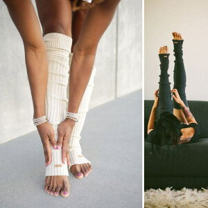 [ToeSox]レッグウォーマー(ThighHigh)★LegWarmersKneeHigh日本正規品ヨガフィットネスライフスタイルニーハイ靴下ロングソックス冷え対策ギフト《A01122》|70904|「OS」《K》