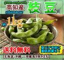 【送料無料】高知産枝豆 えだまめ約1kgおつまみ【楽フェス_ポイント10倍】05P18Jun16