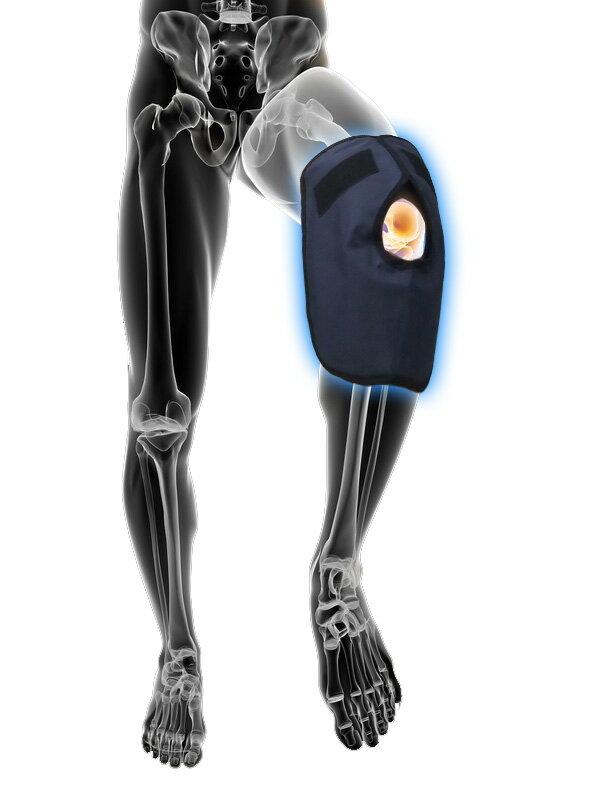 【サポーター別売】アイシングサポーター膝、ひじ用冷却パック(単品)ザムスト/ミズノにも使用可能【ネコポス便発送】