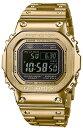 【新品】[カシオ]CASIO Gショック G-SHOCK タフソーラー 電波時計 デジタル 腕時計 メンズ ゴールド GMW-B5000GD-9JF…