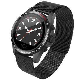 Helius スマートウォッチ 2019 最新 スマートブレスレット 血圧計 心拍計 GPS 大画面 超軽量 ランニングウォッチ 活動量計 歩数計 距離測定 消費カロリー IP67防水 Android iPhone対応 smart watch 日本語説明書