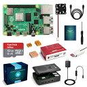 LABISTS Raspberry4 4B-32GB(技適マーク入)MicroSDHCカード32G/NOOBSシステムプリインストール/カードリーダ /5.1V/…