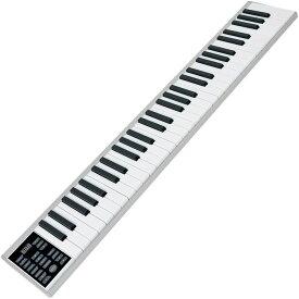 ニコマク 電子ピアノ 携帯型 SWAN 61鍵 軽量小型 本当のピアノと同じサイズ ワイヤレス長時間利用可能 練習にピッタリ 収納バッグ付き MIDI対応 B08745GLHG