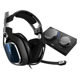Astro ゲーミングヘッドセット A40 TR+MixAmp Pro TR A40TR-MAP-002 ブラック ミックスアンプ 付き ヘッドセット PS4/PC/Mac/Switch/ Dolby 5.1ch 3.5mm usb 国内正規品