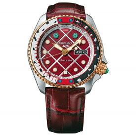 [セイコー]SEIKO 5 SPORTS ジョジョの奇妙な冒険 自動巻き メカニカル 流通限定モデル 腕時計 メンズ ディアボロ セイコーファイブ センス Sense SBSA034