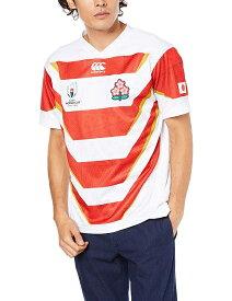 3Lサイズ [カンタベリー] 【公式商品】ラグビーワールドカップ2019 日本代表公式レプリカ ホームジャージ(RWC2019 JAPAN REPLICA HOME JERSEY)VWR39000