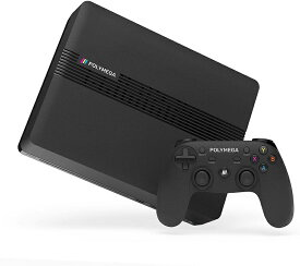 Polymega 本体ベースユニット + ワイヤレスコントローラ セット Base Unit + Wireless Controller Black PM01-00