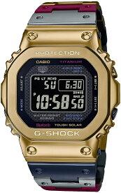 予約4月24日入荷次第発送。GMW-B5000TR-9JR G-SHOCK[カシオ] 腕時計 ジーショック Bluetooth 搭載 電波ソーラー GMW-B5000TR-9JR メンズ ゴールド