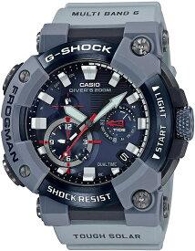 予約4月24日入荷次第発送。GWF-A1000RN-8AJR G-SHOCK[カシオ] 腕時計 ジーショック ROYAL NAVYコラボレーションモデル Bluetooth 搭載電波ソーラーFROGMAN カーボンコアガード構造 メンズ グレー