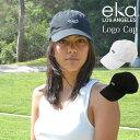 エカ eka ワンポイントロゴキャップ キャップ 帽子 レディース キャップ 春 夏 春夏 サマー 送料無料