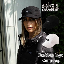 eka ワッペンロゴ キャンプキャップ 帽子 レディース スポーツ キャップ 送料無料