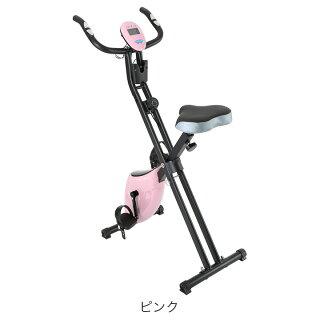 フィットネスバイク折りたたみスピンバイクエアロ有酸素運動送料無料脚やせダイエット器具お腹周りダイエット器具マグネットタイプエクササイズ美脚運動家庭用スポーツ器具エクササイズバイク
