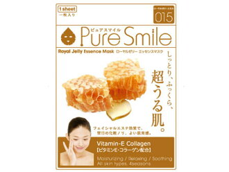 "Pure Smile(纯的微笑)精华口罩""蜂王浆""FACE-MASK-015-1"