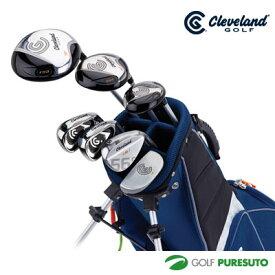 クリーブランド ゴルフ Jr.クラブセット LARGE SET(ドライバー、フェアウェイウッド、ユーティリティ、アイアン#7、アイアン#9、ウエッジ、パター+バッグ)[日本仕様][Cleveland Golf]【■D■】