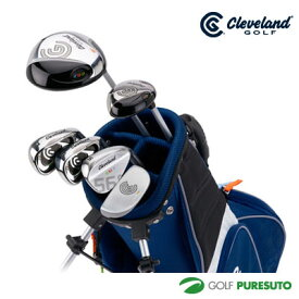 クリーブランド ゴルフ Jr.クラブセット MEDIUM SET(ドライバー、ユーティリティ、アイアン#7、アイアン#9、ウエッジ、パター+バッグ)[日本仕様][cleveland Golf]【■D■】