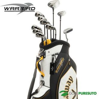 kyarouei WARBIRD高爾夫球桿套裝2016年型號10瓶一套(1W,5W,#5~#9,PW,SW,PT)+高爾夫球場服務員包[日本式樣][Callaway沃鳥]