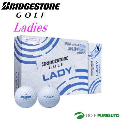 【オウンネーム】【レディース 女性】ブリヂストンゴルフ レディ ゴルフボール 1ダース(12球入)【■BO■】[BRIDGESTONEGOLF Lady 女性用]
