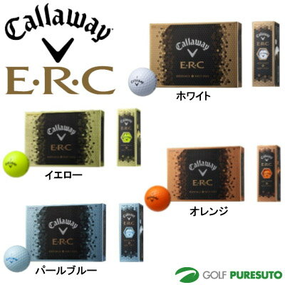 【即納!】【日本仕様】キャロウェイ E・R・C ゴルフボール 1ダース(12球入)●2016年モデル●[Callaway ERC]【あす楽対応】