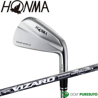 本間高爾夫球旅遊世界TW-BM鐵桿6瓶一套(#5~#10)VIZARD IB95軸[HONMA vizado TOUR WORLD肌肉背]