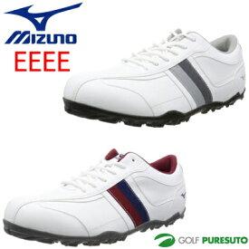 ミズノ T-ZOID ゴルフシューズ メンズ 51GQ1685 スパイクレス [Mizuno ティーゾイド 靴 EEEE 4E]